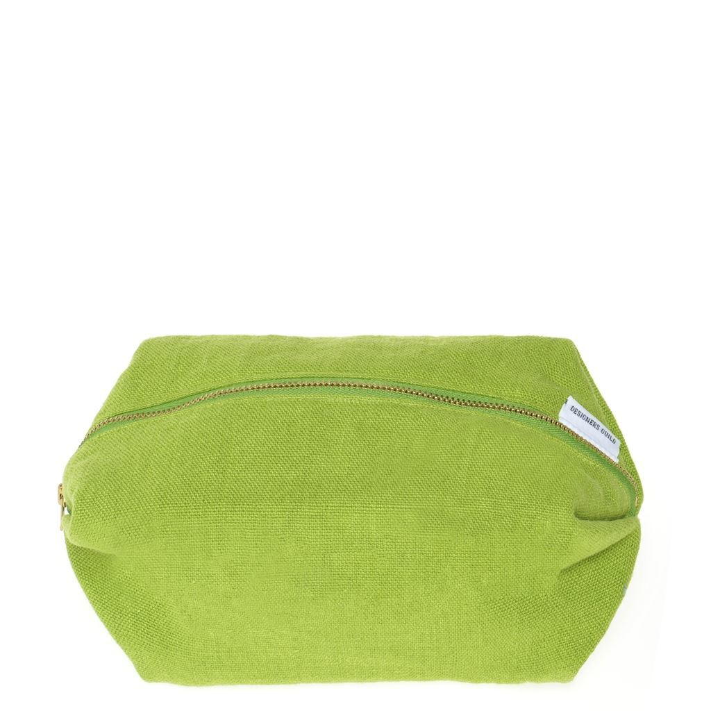 Brera Lino Leaf Toiletry Bag | Designers Guild at Fig Linens