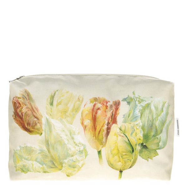Spring Tulip Buttermilk Large Toiletry Bag by Designers Guild