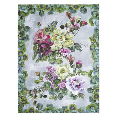 Grandiflora Rose Fuchsia Throw by Designers Guild