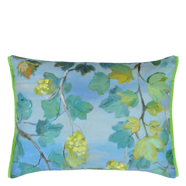 Outdoor Giardino Segreto Cornflower Decorative Pillow by Designers Guild