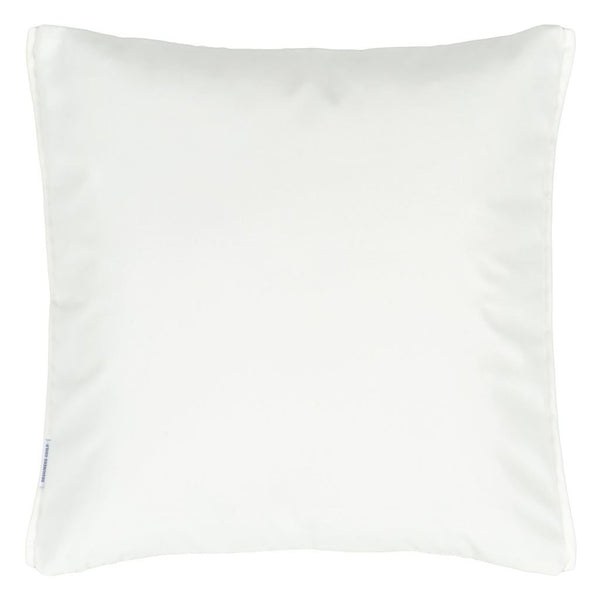 Reverse of Designers Guild Pompano Acacia Decorative Outdoor Pillow