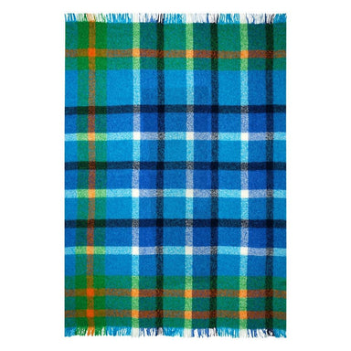 Langton Cobalt Throw Designers Guild - Fig Linens