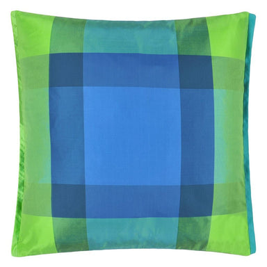 Varanasi Cobalt Cushion Designers Guild - Fig Linens