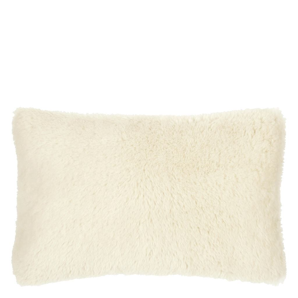 Mousson Chalk Cushion | Designers Guild Throw Pillows at Fig Linens