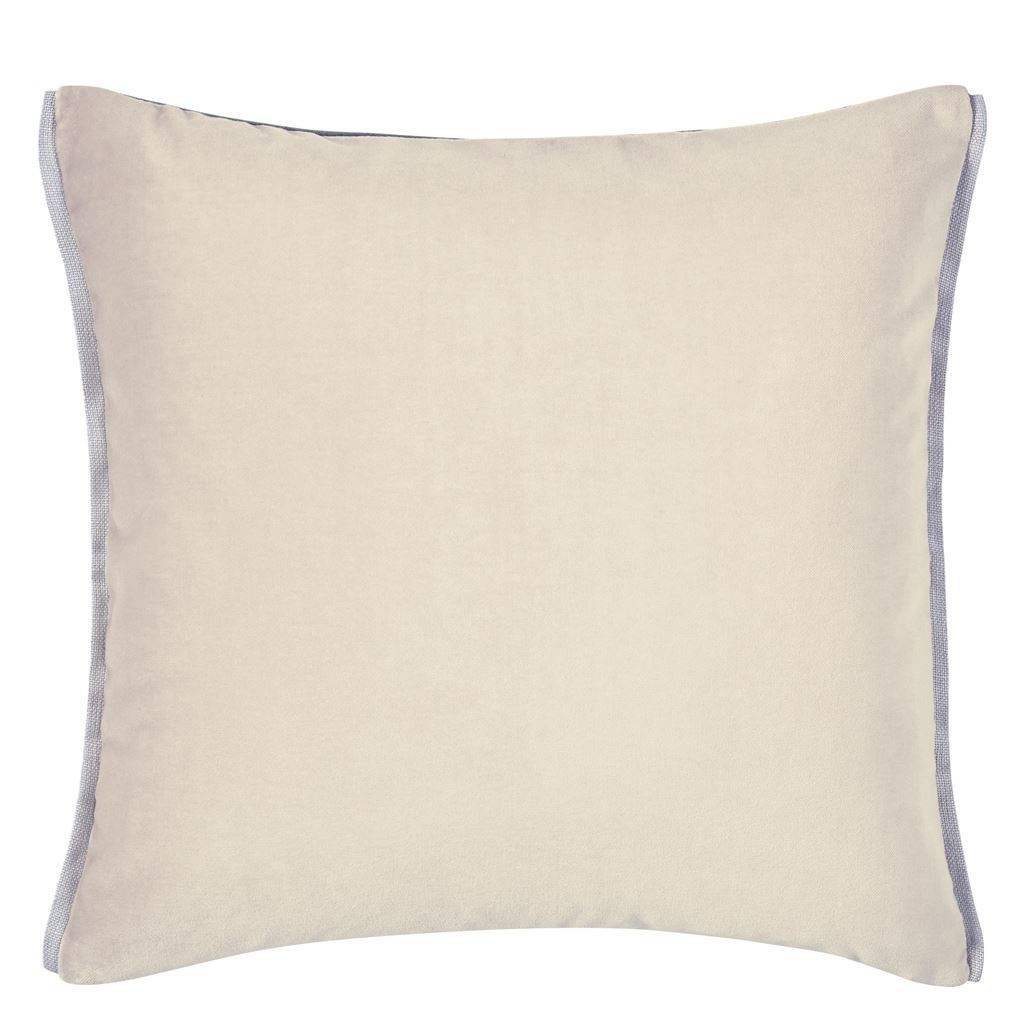 Varese Linen & Cocoa Cushion by Designers Guild - Fig linens