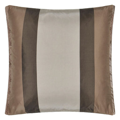 Fig Linens - Designers Guild Designers Guild Varanasi Taupe Decorative Pillow - Back