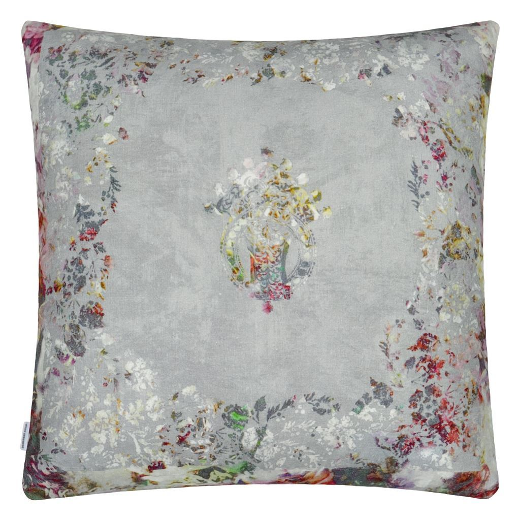 Fig Linens - Designers Guild - Osaria Dove Pillow - Back