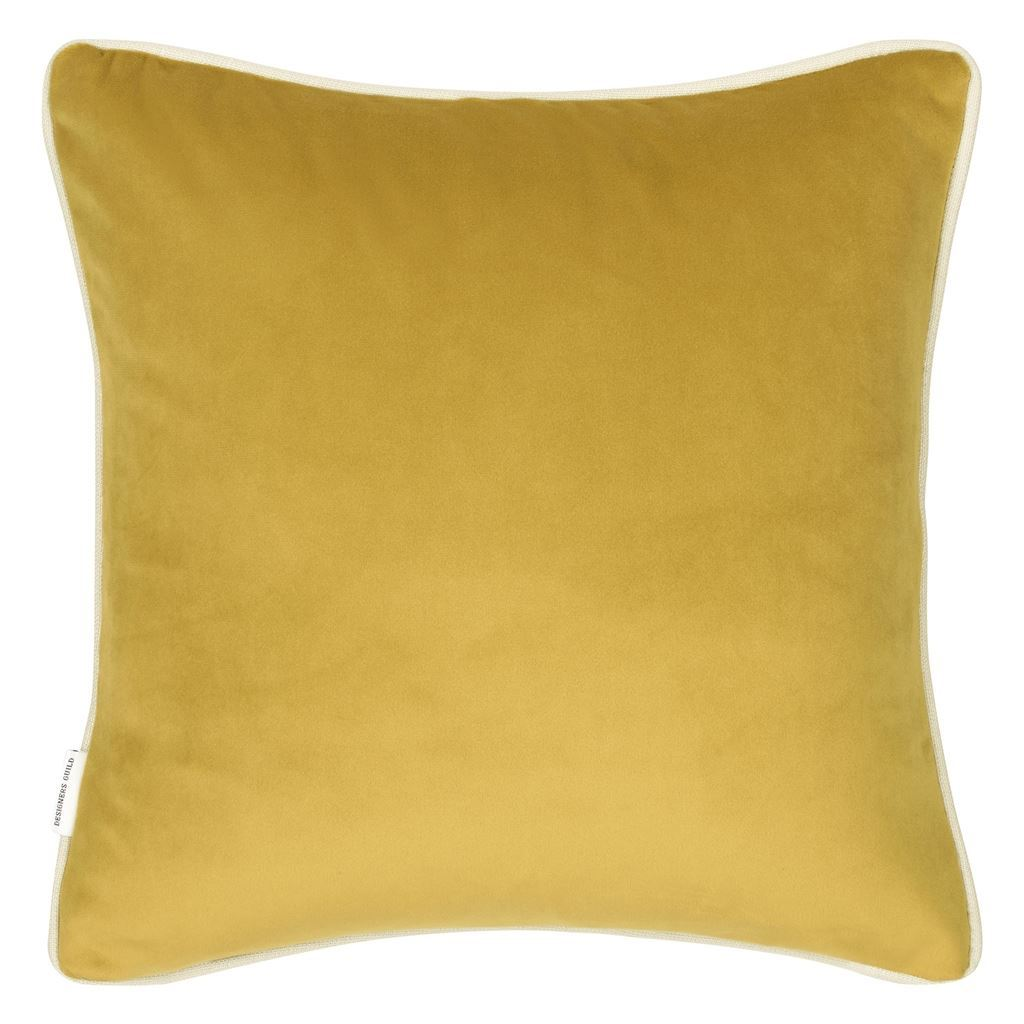 Designers Guild Corda Olive Decorative Pillow | Fig Linens