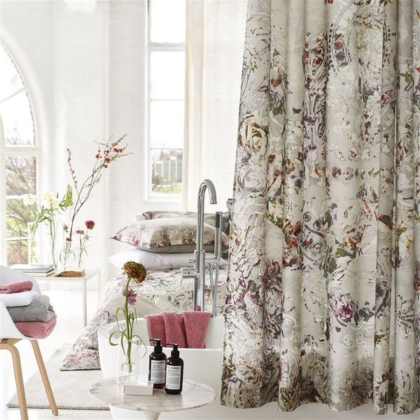 Designers Guild Osaria Dove Shower Curtain | Fig Linens and Home