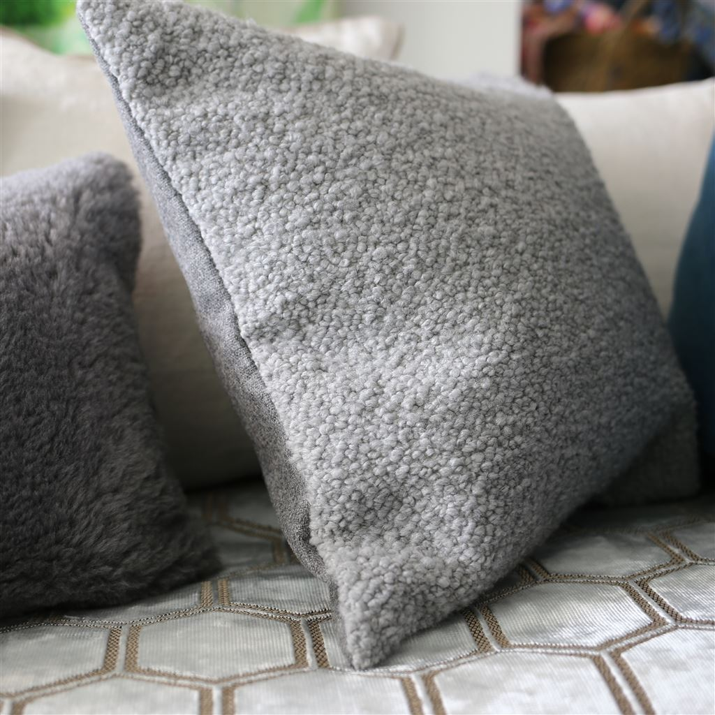 Cormo Zinc Throw Pillow | Designers Guild at Fig Linens