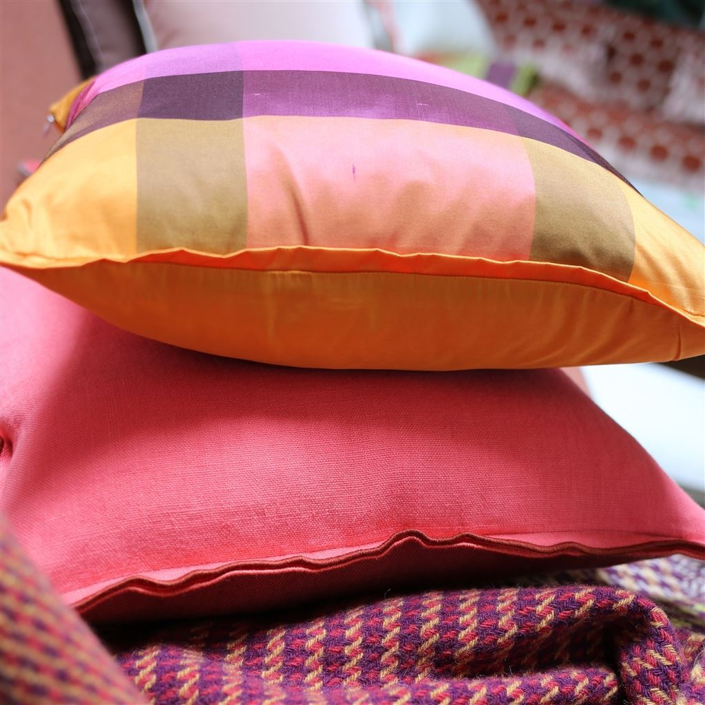 Fig Linens - Designers Guild Fuchsia Accent Pillow