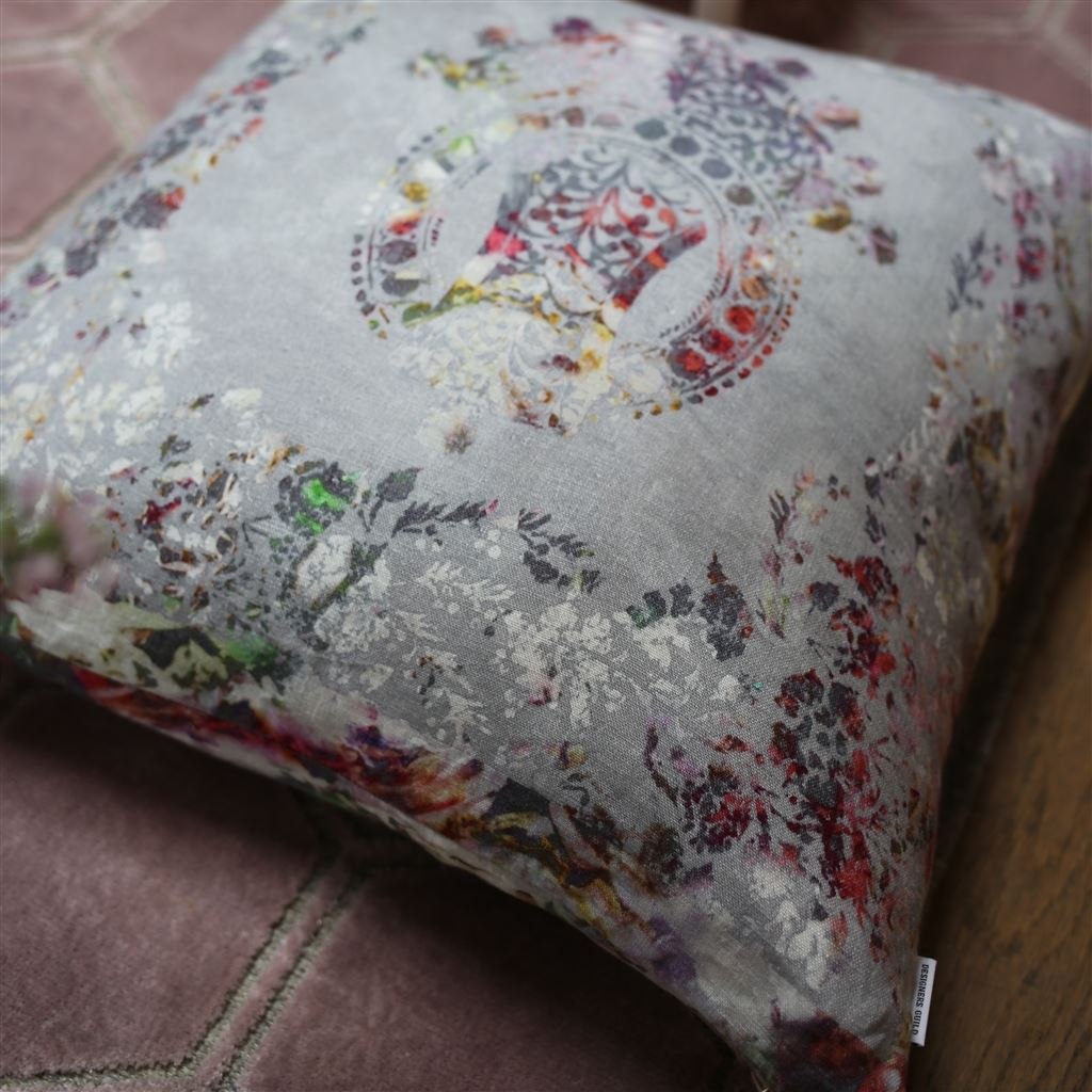 Fig Linens - Designers Guild - Osaria Dove Throw Pillow