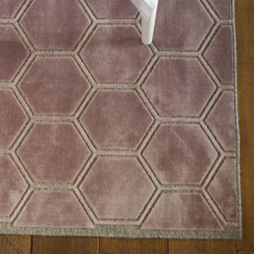 Contemporary Floor Rug - Manipur Amethyst by Designers Guild