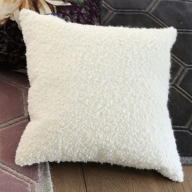 Cormo Chalk Pillow on Chair | Designers Guild Throw Pillows