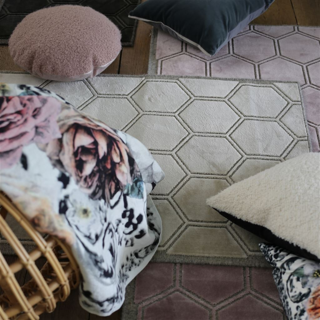 Fig Linens - Designers Guild Manipur Floor Rugs