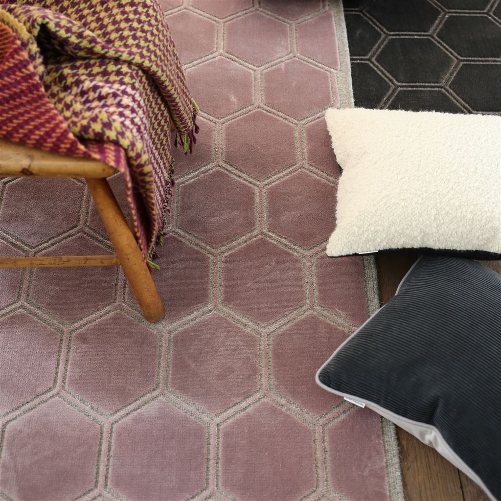 Manipur Amethyst Rug by Designers Guild | Floor Rugs at Fig Linens