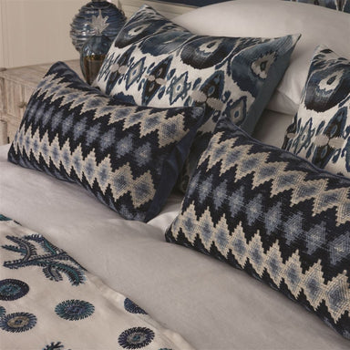 Perzina Midnight Decorative Pillow | Designers Guild at Fig Linens
