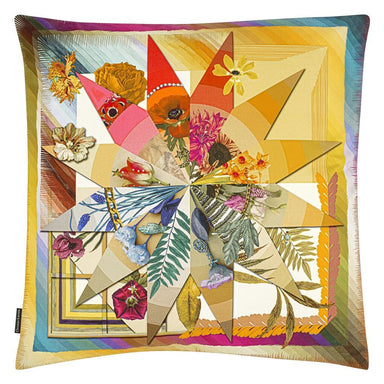 Botanic Rainbow Multicolore Decorative Pillow