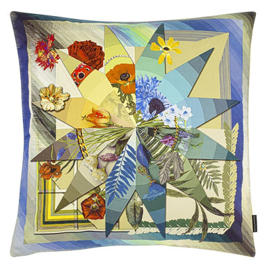 Botanic Rainbow Multicolore Decorative Pillow 2 | Christian Lacroix