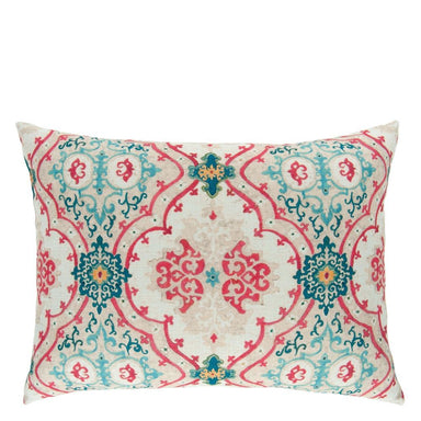 Valetta Peacock Decorative Pillow 1