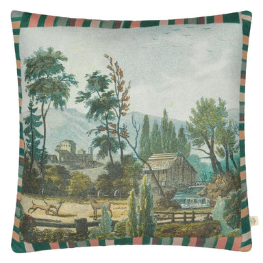 Pastoral Sky Decorative Pillow