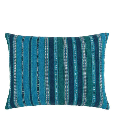 Almacan Peacock Decorative Pillow | Designers Guild with William Yeoward