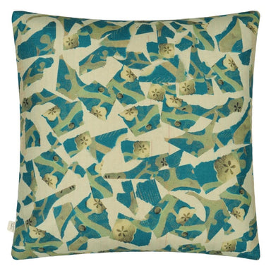 Tulips Cobalt Decorative Pillow