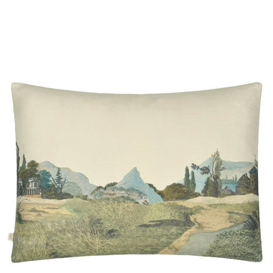 Birds of a Feather Parchment Decorative Pillow