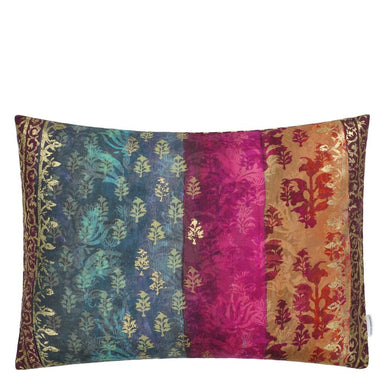 Kasavu Amethyst Decorative Pillow - Throw Pillow