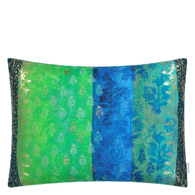 Designers Guild - Kasavu Emerald Decorative Pillow