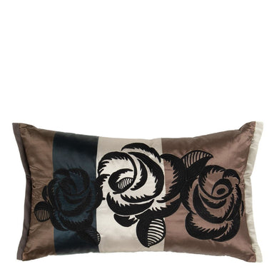 Kasuti Taupe Decorative Pillow