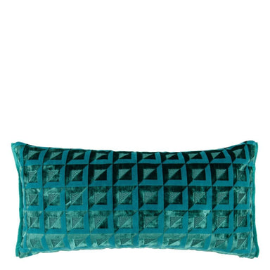 Monserrate Ocean Decorative Pillow | Designers Guild at Fig Linens