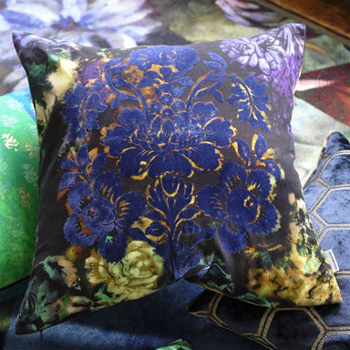 Tarbana Midnight Decorative Pillow | Designers Guild at Fig Linens