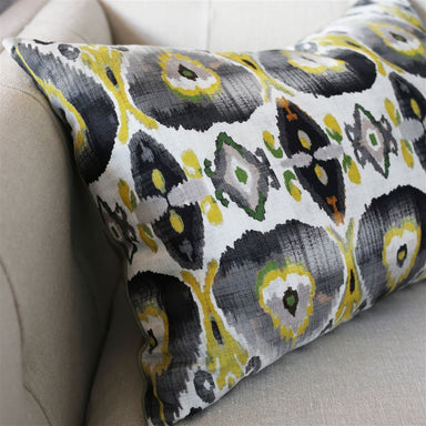 Cuzco Citrone Decorative Pillow on Chair
