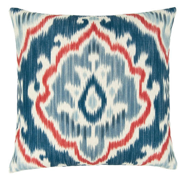 Designers Guild Ikat Saphia Steel Decorative Pillow