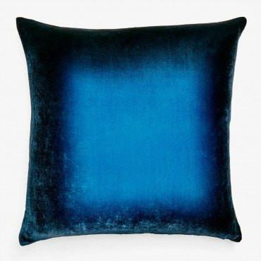 Midnight Ombre Velvet Pillow by Kevin O'Brien Studio | Fig Linens