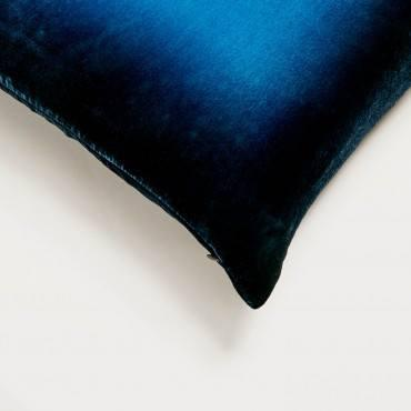 Midnight Ombre Velvet Pillow by Kevin O'Brien Studio - Details