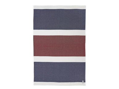 Kennebec Navy Day Blanket by Brahms Mount | Fig Linens and Home