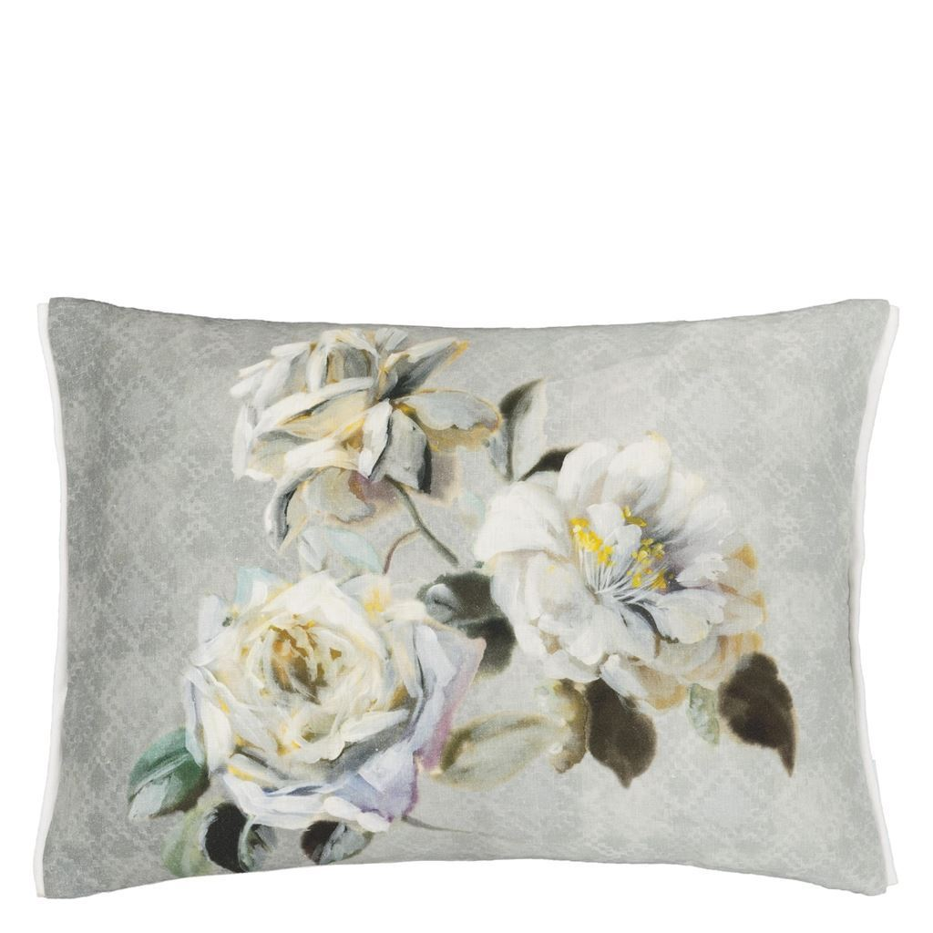 Verronet Zinc Cushion - Designers Guild