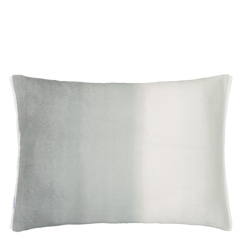 Verronet Zinc Cushion - Designers Guild - Reverse of Pillow