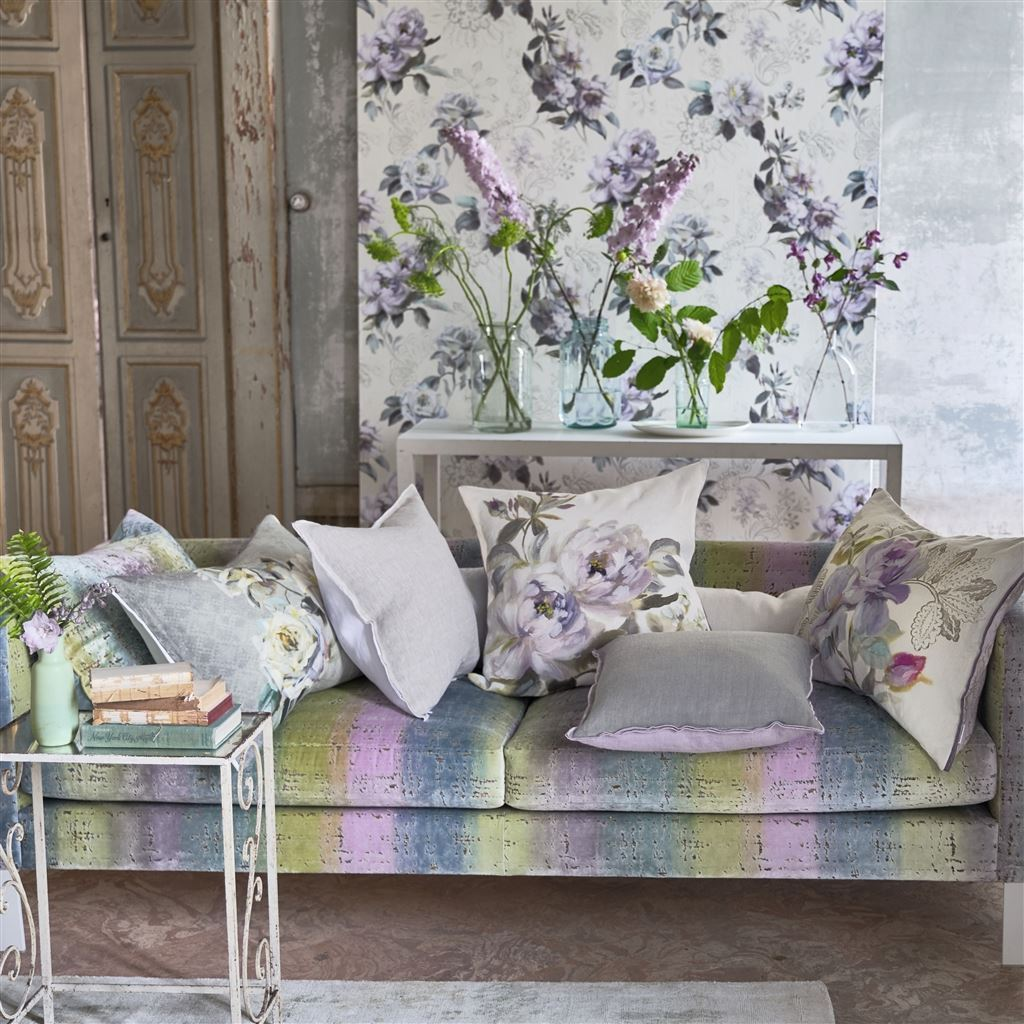 Verronet Zinc Cushion - Designers Guild - Alternate Views
