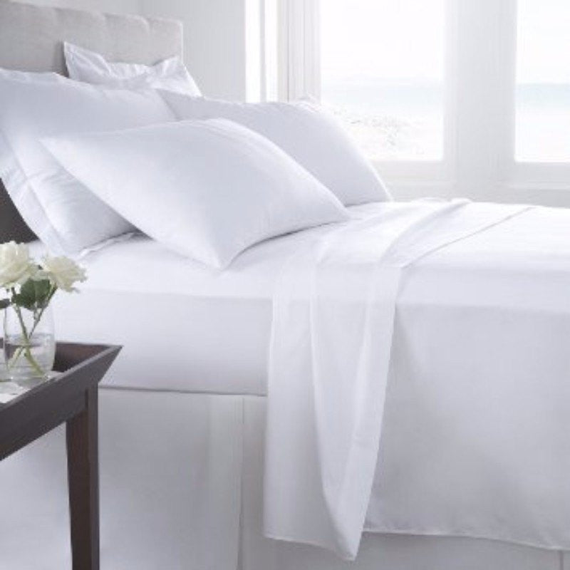 Plain White Bedding on Sale