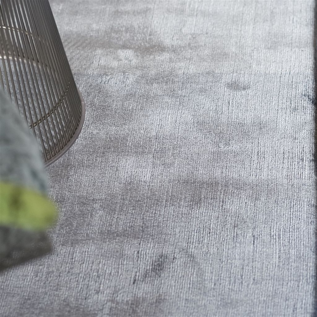 Designers Guild Everson Slate Rug - Detail View