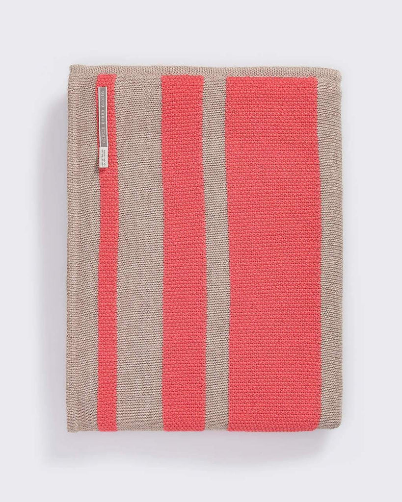 Malibu Wrap - Alicia Adams at Fig Linens - Coral and Taupe