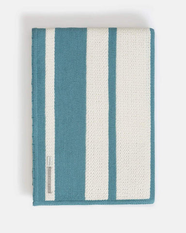 Malibu Wrap - Alicia Adams at Fig Linens - Celery and Teal