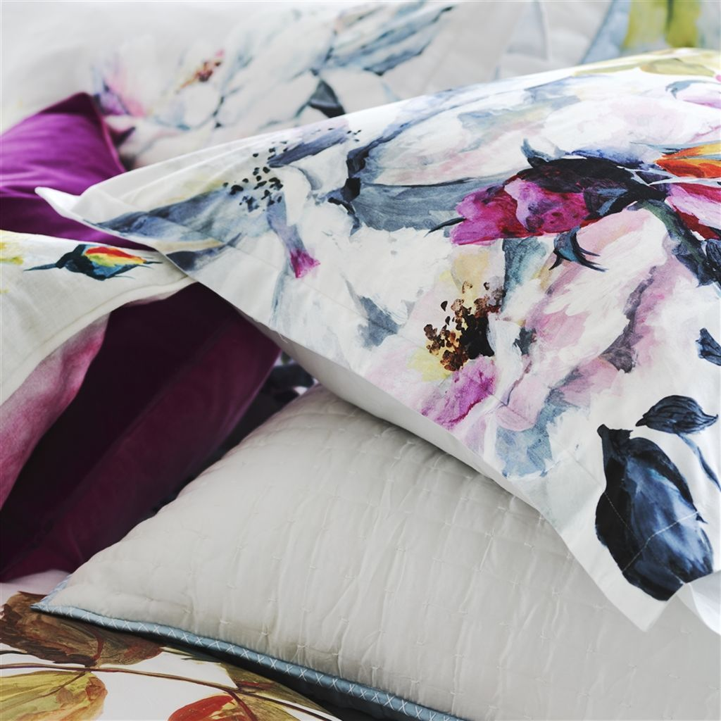 Couture Rose Fuchsia Shams by Designers Guild