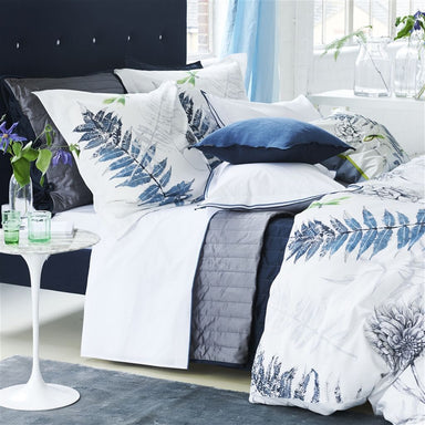Designers Guild Acanthus Indigo Duvets and Shams