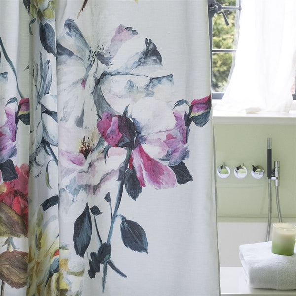 Designers Guild Couture Rose Fuchsia Shower Curtain