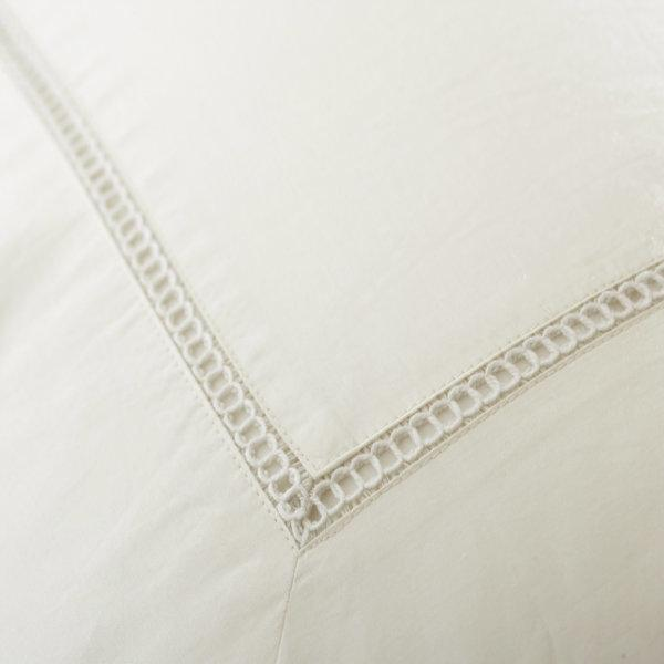 Ambience Bedding with Fagotting Design by Downright | Fig Linens and Home