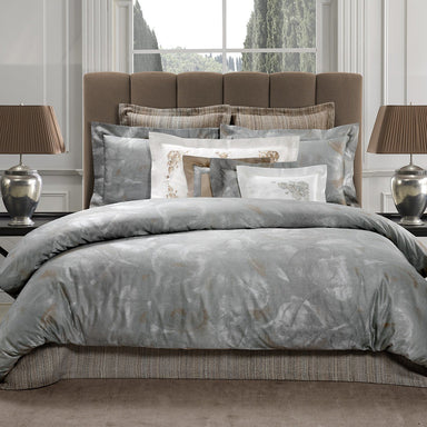 Andromeda Jacquard Bedding by Dea Linens | Fig Linens